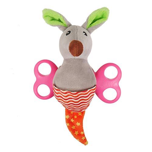 Rosewood Little Nippers Rascal Roo Hundespielzeug für kleine Hunde (Rascal Hund Spielzeug)