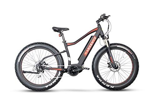 Argento Elephant PRO, Bicicletta Elettrica Unisex – Adulto, Assicurazione AXA 'Tutela Famiglia' inclusa, Rosso, Telaio 46 cm