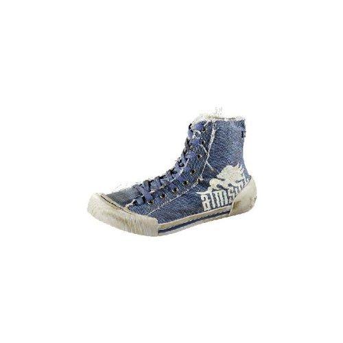 Betula - pantoufle ''Vento'' de Textil en Jeans foncé Dark Jeans