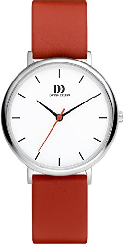 Danish Design Womens Analogue Classic Quartz Watch with Leather Strap DZ120663