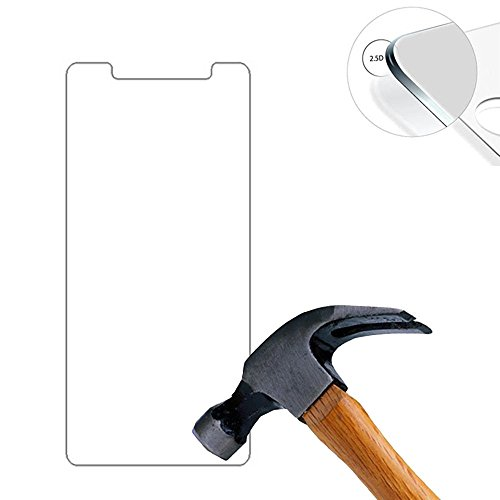Lusee® 2 X Pack Panzerglasfolie Tempered Glass Hartglas Schutzfolie für UleFone Future 5.5 Zoll Premium Screen Folie Protector Ultra Hart Bildschirmschutz 0,3mm 9H Clear 2.5D