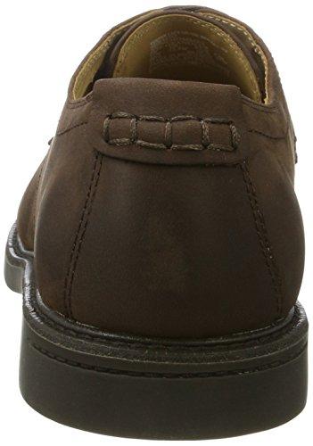 Sebago Turner Lace Up Wp, Derbys Homme Marron (Dk Brown Leather Wp)