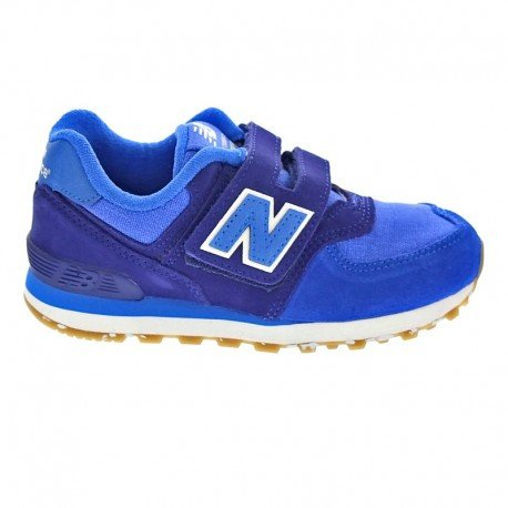 New Balance Kv574esi M Hook and Loop, Sneakers Basses Mixte Enfant bleu
