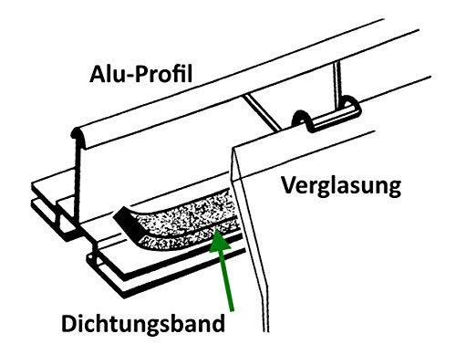 MacGreen® Dichtungsband für Gewächshäuser (50 m) - 2