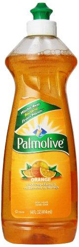 Palmolive Dish Liquid with Orange Extracts, Orange, 14 Fluid Ounce