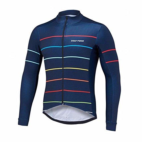 Uglyfrog Fahrradtrikot Herren Fahrrad Trikot LangarmFahrradbekleidung Fahrradtrikot Männer Radsport Langarmshirt Funktionsshirt