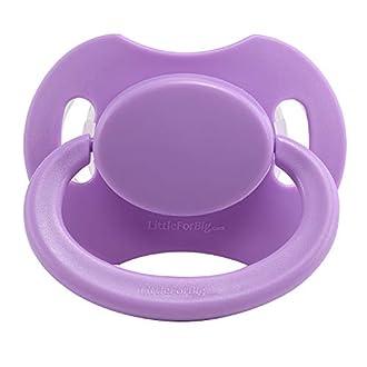 Littleforbig -Tétine Bigshield Generation 2 pour bébé adulte - Violet