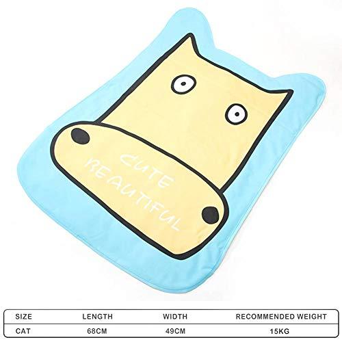 Pet Cooling Mat Breathable Waterproof Pet Pad Cat Dog Bed Cushion Haustier Halten Sie in der Warmen Sommerwetter Kühl
