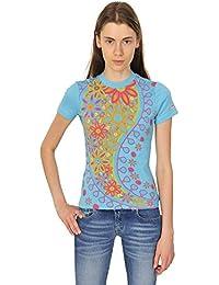 Gas Tshirt Damen Blau L
