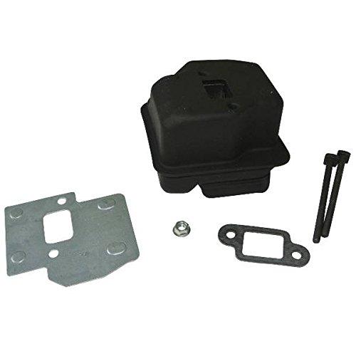 Auspuff Schalldämpfer Schrauben & Dichtung Kühlung Teller Passform Stihl 021 023 025 MS250 210 230