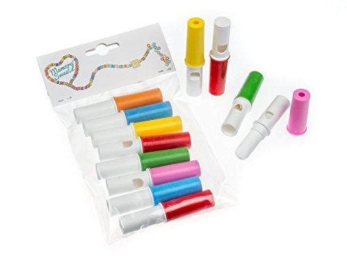 MemorySweets - Bonbons flûtes à la poudre acidulée - rétro - 8 pièces