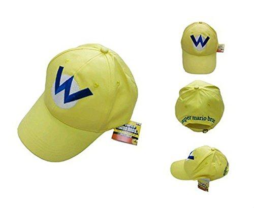 Topvance Super Mario Bros Wario Gelb Hut Freizeit Baseball Kappe Dominion Baseball