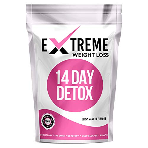 Extreme 14 Day Botanical Tea (Berry Vanilla Flavour) - Compatible with Diet Plans