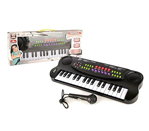 101045 Teclado electrónico juguete micrófono 32