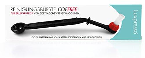 Business-Coffee Luxpresso Brühgruppenbürste/Reinigungsbürste COFFREE für...