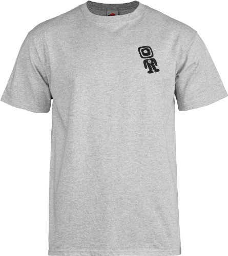Powell Peralta Skate wie ein Man T-Shirt grau