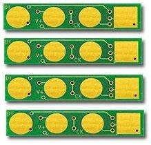 Samsung Chip (Prestige Cartridge Set 4 Toner Chip für Samsung CLP-320, CLP-325, CLX-3185 für eine Druckleistung der vollen Kartuschenkapazität von 1.500 (Schwarz) 1.000 (Cyan, Magenta, Gelb) Seiten)
