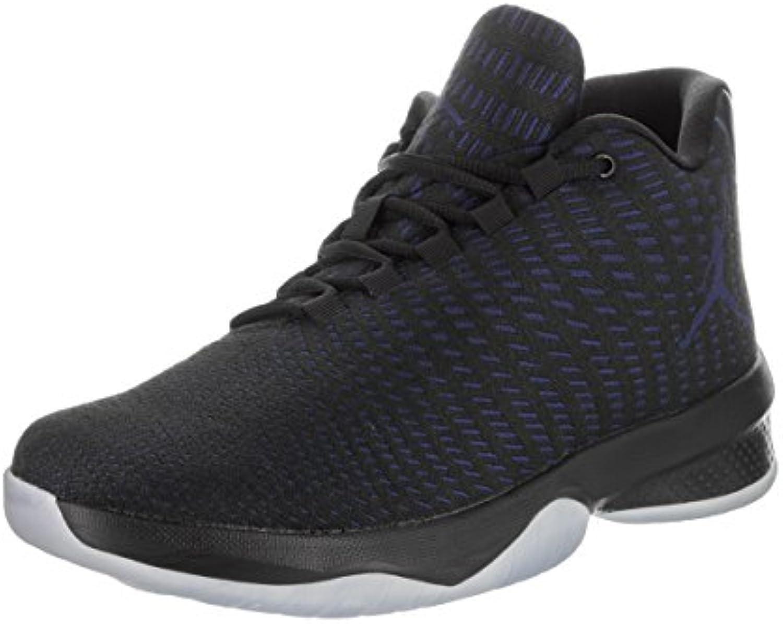 Jordan Schuhe B. Fly Schwarz/Violett/Weiß  Billig und erschwinglich Im Verkauf