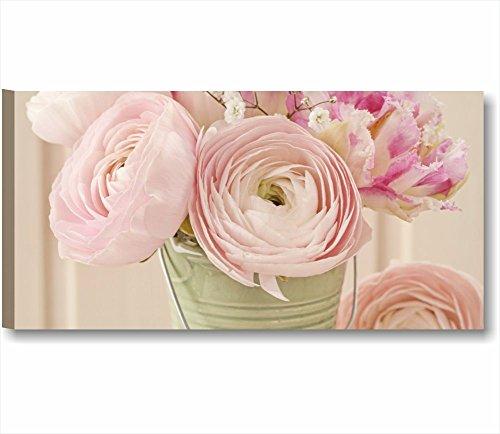 rose-vintage-5-modernes-bild-auf-leinwand-fertig-gerahmt-bilder-mobel-shabby-chic-landhausstil-rosa-