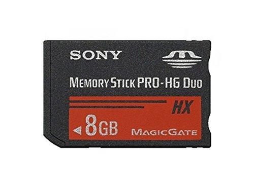 Sony mshx8a-psp memory stick pro-hg duo hx psp 8 gb, nero