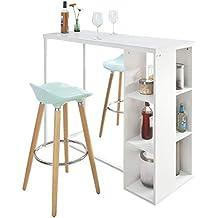 Amazon.es: mesa alta cocina