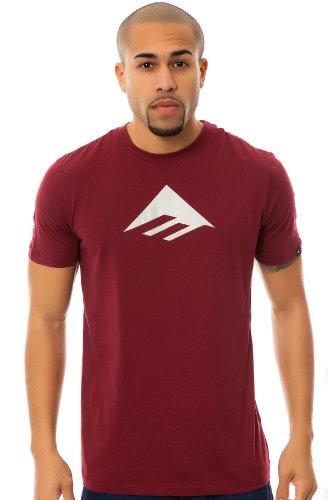 Emerica - t-shirt - homme Bordeaux