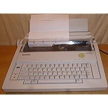 Brother AX de 210 eléctrico máquina de escribir con corrección