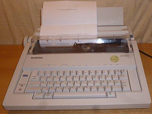 Brother AX-210 elektrische Schreibmaschine mit Korrektur