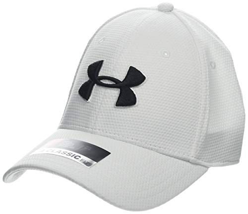 Under Armour Blitzing II Gorra, Hombre, Blanco (White/Black 110), XL/XXL