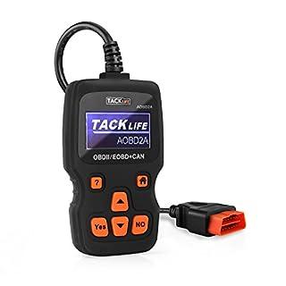 OBD2 Auto Diagnosegerät, Tacklife AOBD2A Auto-Scanner mit standardem 16-pin, großem Bildschirm, zum Auslesen der Fehler eines Fahrzeug ab 2000