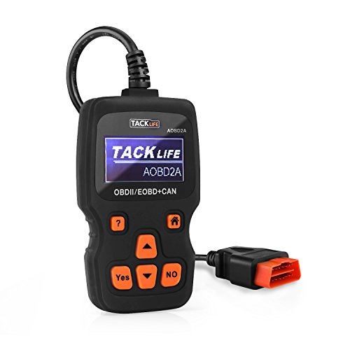 TACKLIFE OBD2 Scanner, aobd2 a Diagnose Echtzeit-Prüfung Tool, aobd2 a Auto Code Reader, OBD-II Engine Fault Diagnostic Code Tester -