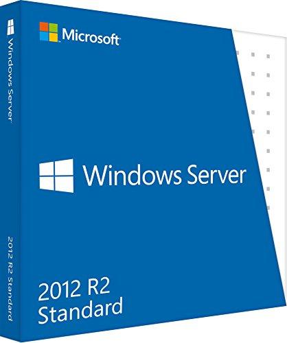 Preisvergleich Produktbild Vollversion Windows Server Standard 2012 R2 / 64-bit / englisch / DVD / 5 Clt