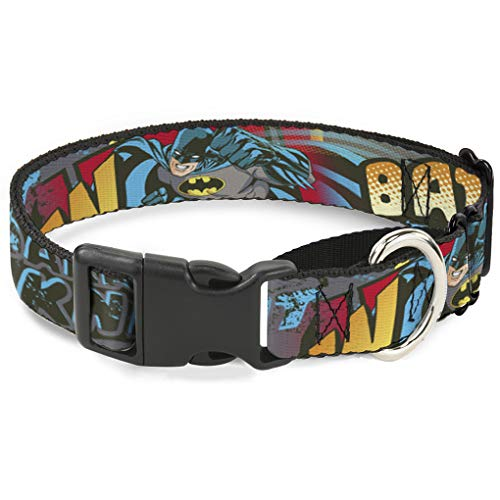 Dark Knight Martingale Hundehalsband, 3,8 cm Wide-fits 33-45,7 cm Neck-small ()