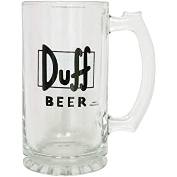 duff beer bierglas 0 3 liter k che haushalt. Black Bedroom Furniture Sets. Home Design Ideas
