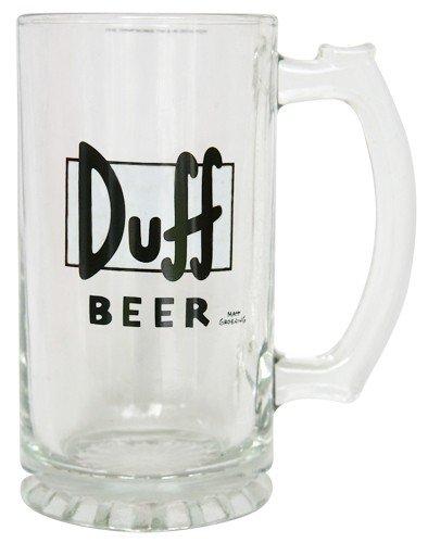 Duff Beer Bierglas 0,3 Liter -