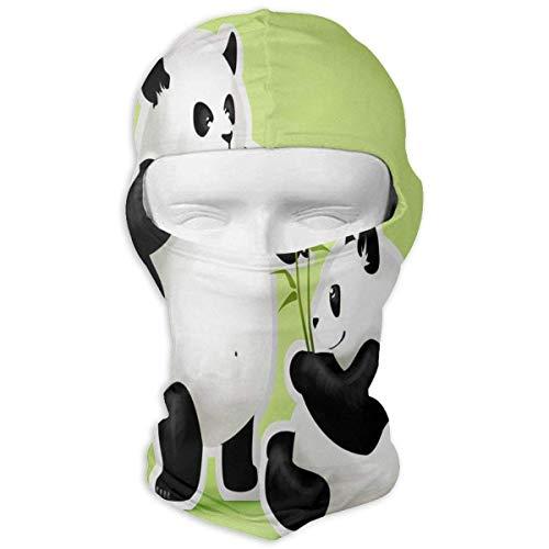 Sherpa Baumwolle Hut (Hoklcvd Balaclava Cute Bunny Rabbit Full Face Masks Ski Motorcycle Neck Hood Design9)