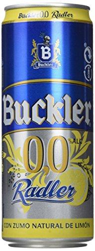 Buckler 00 Radler Limon Beer - Box of 24 cans x 330 ml - 7,92L