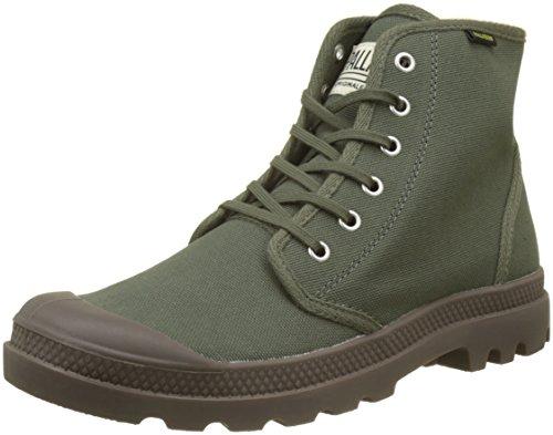 Palladium Unisex-Erwachsene Pampa Hi Originale Hohe Sneaker Grün (Olive Night/black K65)