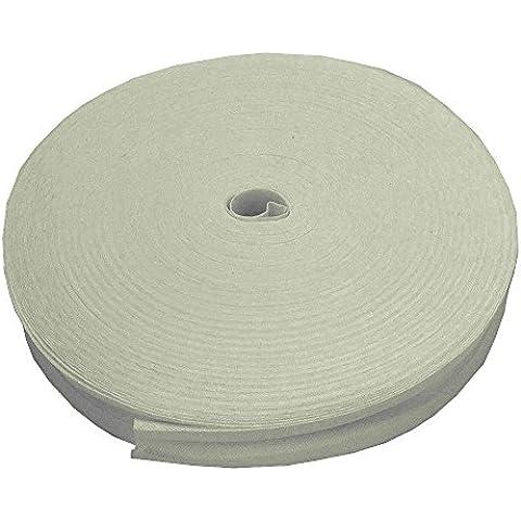 16mm sbieco nastro trim 100% cotone–Naturale–5m