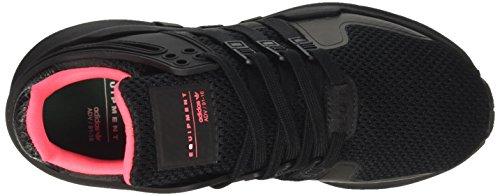 adidas Equipment Support Adv, Sneaker a Collo Basso Unisex – Adulto Nero (Core Black/Core Black/Turbo)