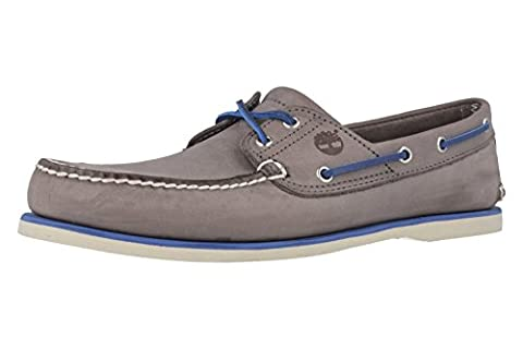 TIMBERLAND - Classic 2Eye - Herren Bootsschuhe - Grau Schuhe