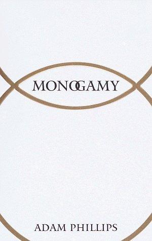 Portada del libro Monogamy by Adam Phillips (1997-01-21)