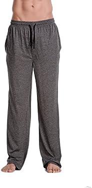 CYZ Men's 100% Cotton Jersey Knit Pajama Pants/Lounge P