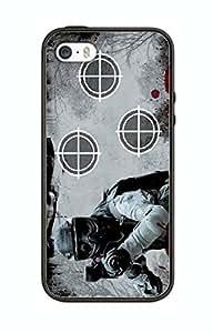 Case Schutzrahmen hülse Paintball PB8 Abdeckung für Iphone 5 5s Border Gummi Silikon Tasche Schwarz @pattayamart