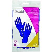 Nitril-Handschuhe Mehrweg-Handschuhe 144 Paar, Größen S, M, L oder XL, blau oder grün