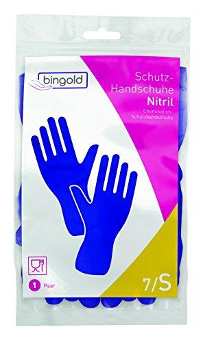 Nitril-Handschuhe Mehrweg-Handschuhe blau 144 Paar