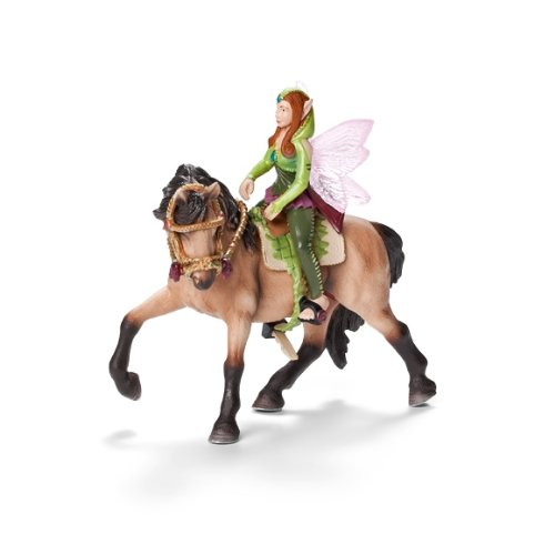 41QUG4i1BLL BEST BUY #1Schleich Elf Riding Set Forest Elf (Horse Is Not Included) price Reviews uk