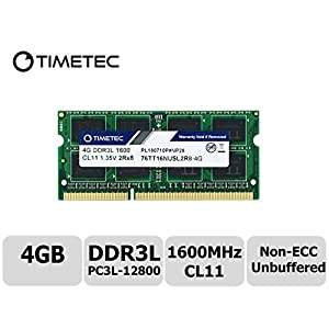 Timetec-Hynix-IC-4GB-DDR3L-1600MHz-PC3-12800-Unbuffered-Non-ECC-135V-CL11-2Rx8-Dual-Rank-204-Pin-SODIMM-Laptop-Notebook-Computer-Memory-RAM-Module-Upgrade
