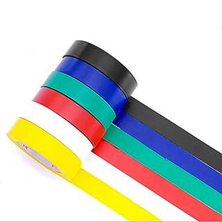 Isolierbänder Stark PVC Klebeband Wasserdicht Elektrische Klebeband 6 Rollen Farbigen