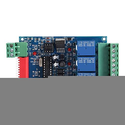 koulate LED-Decoder-Controller, WS-DMX-RELAY-3CH-BAN 3-Kanal-LED-DMX512-Decoder-Controller DC12V für LED-Streifen